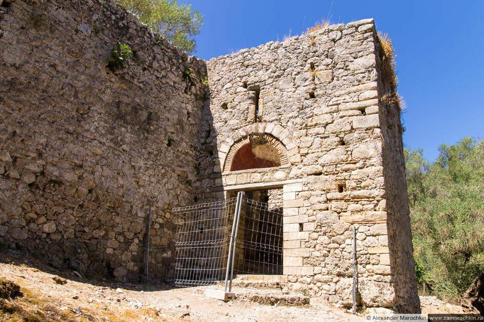 Вход в крепость Гардки