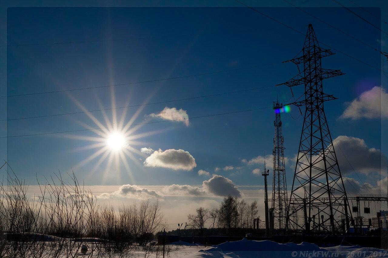 Подстанция Рудничная 110/35/10 кВ (© NickFW - 26.01.2017)