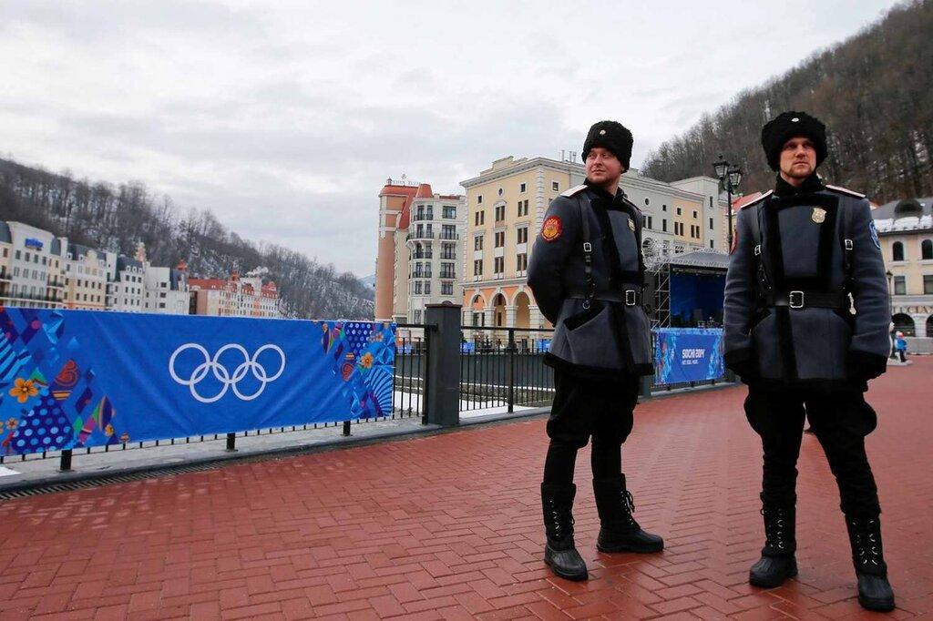 Казачьи патрули на улица города Сочи (3)