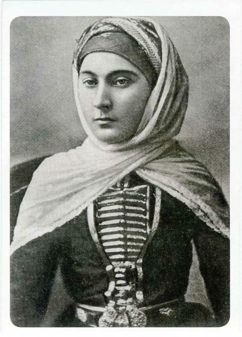 Праздничный наряд карачаевской женщины. ХIХ век.