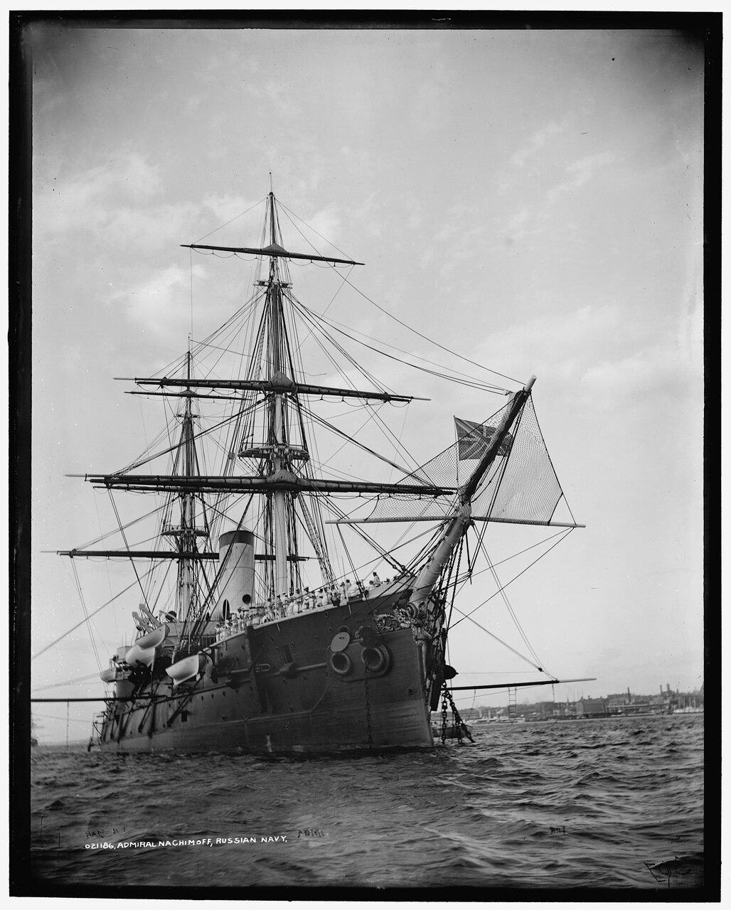 Броненосный фрегат «Адмирал Нахимов»