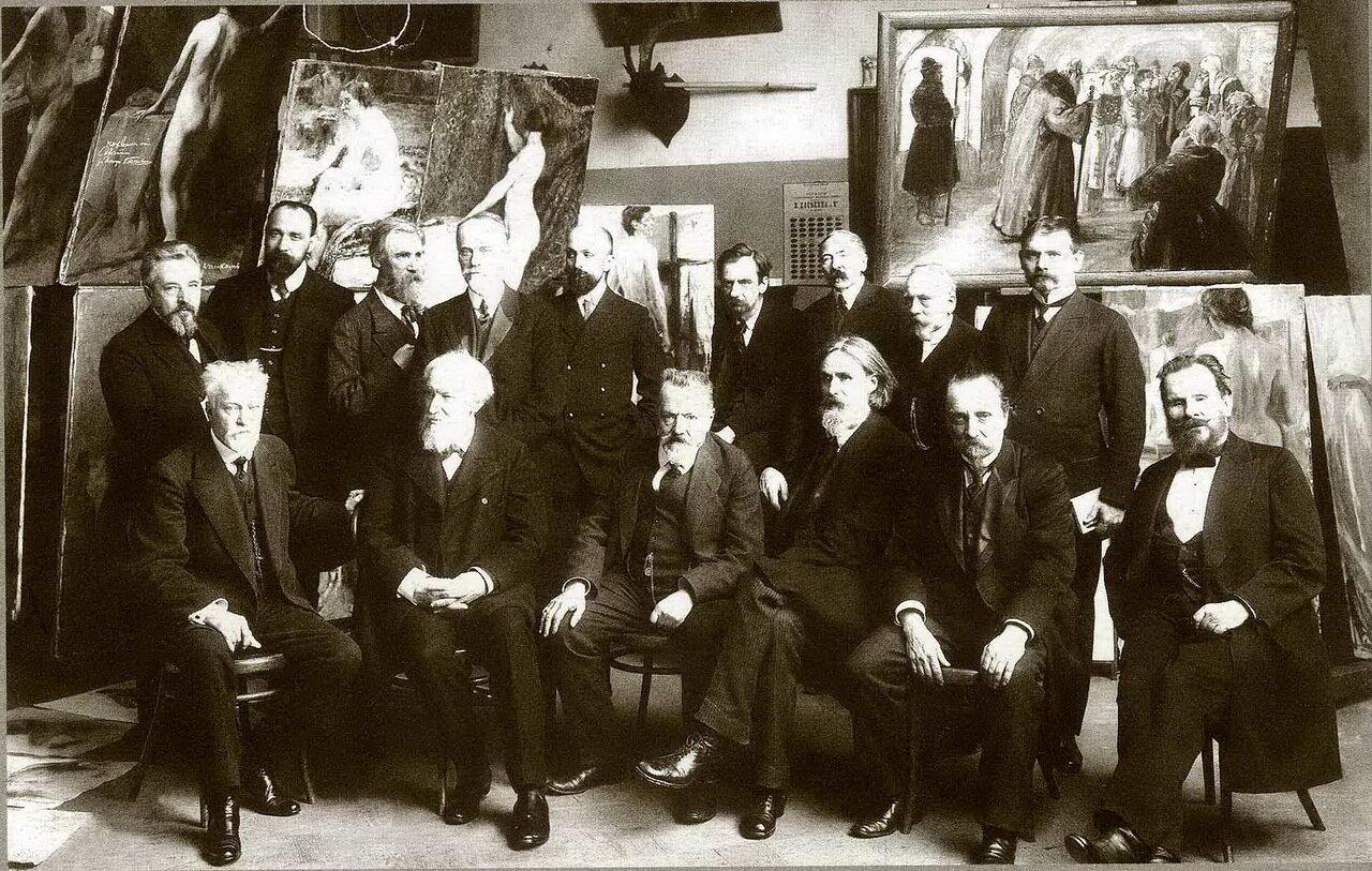 1913. Совет Высшего художественного училища