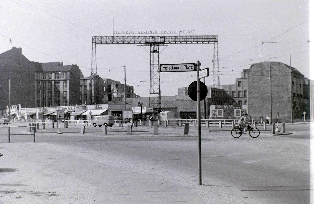 11 сентября 1959. Потсдамская площадь, Берлин