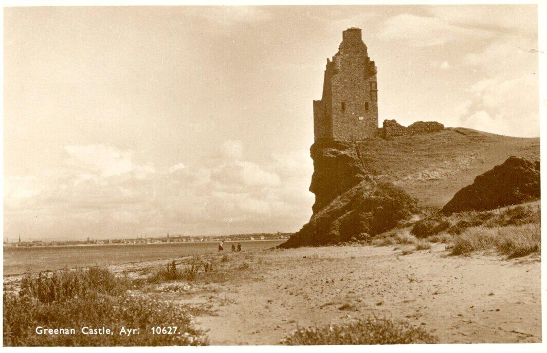 Замок Гринан. Южный Эйршир. 1930