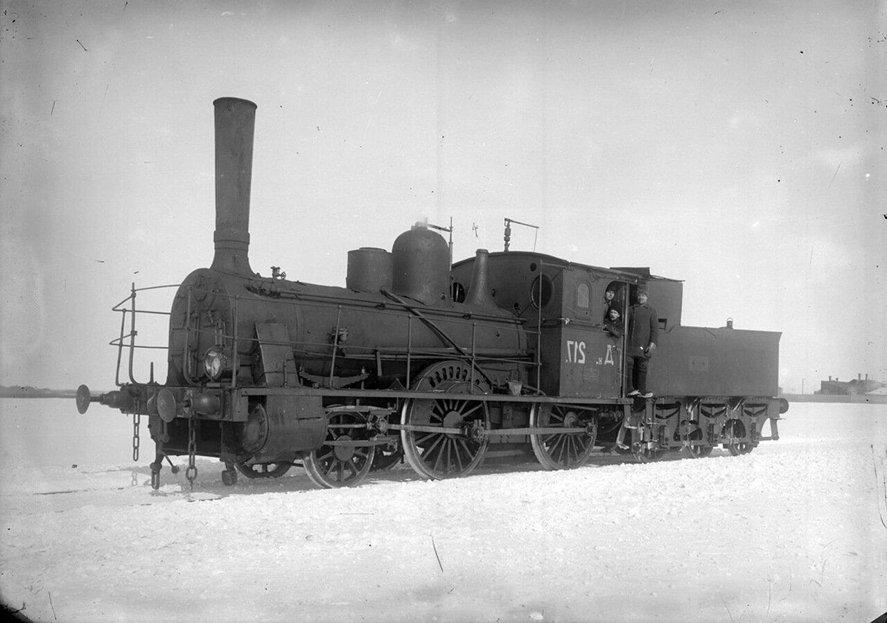 1915. АО «Сормово». Паровоз № 217.