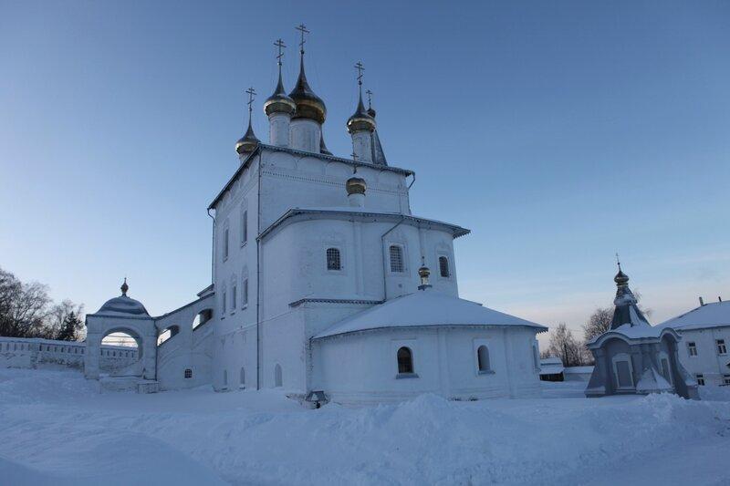 Гороховец - Николо-Троицкий мужской монастырь