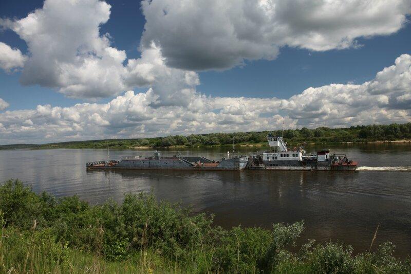 От Высоких Полян до Погоста, река Ока