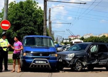 В Кишиневе произошло ДТП с участием 4 автомобилей