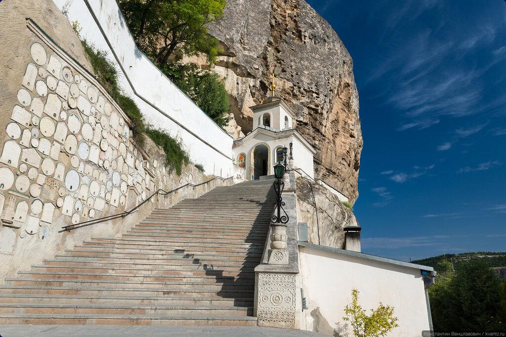 Свято-Успенский мужской монастырь. Бахчисарай, Крым