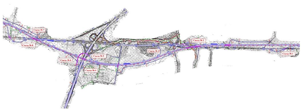 А133 ЦКАД А-133 Московская область проект первый пусковой комплекс первый строительный участок развязка М-2 Крым 113 км