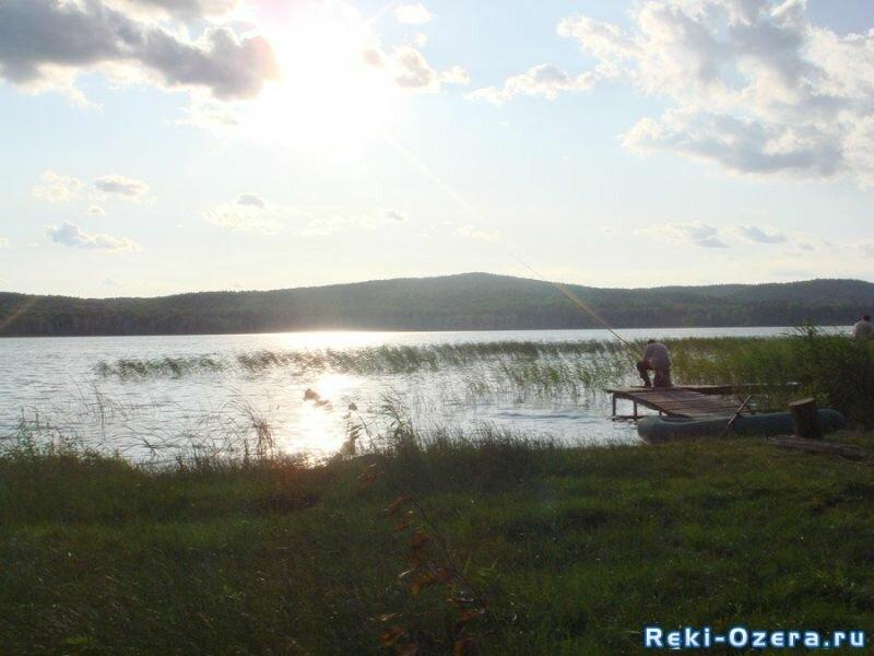 Рыбалка на озере платная (23.08.2013)