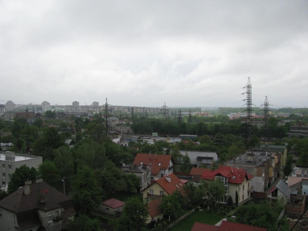 Сихів і гуртовий Шувар вигляд з вул. Тернопільська 21