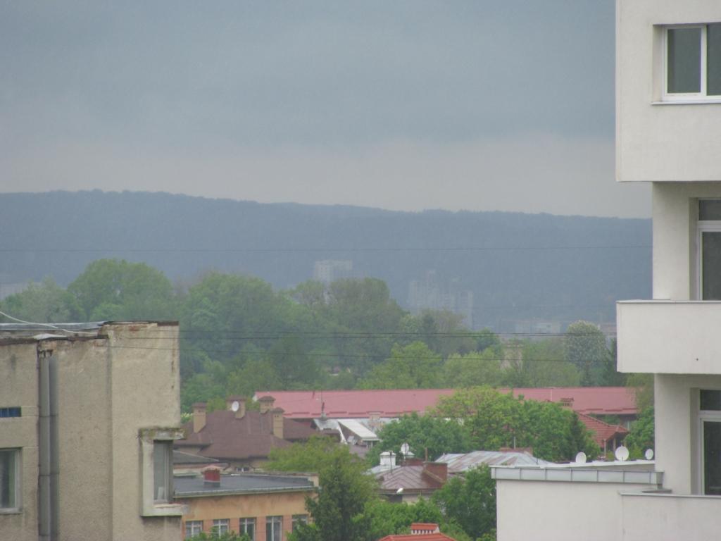 Кінець пр. Чорновола + Підголоско + Замарстинівський парк + Брюховицький ліс - вигляд з Тернопільської 21