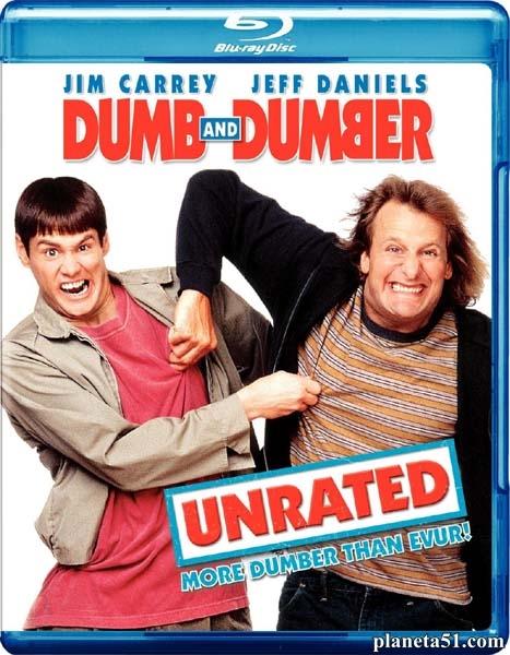 Тупой и еще тупее / Dumb & Dumber (1994/HDRip/BDRip/Расширенная версия)