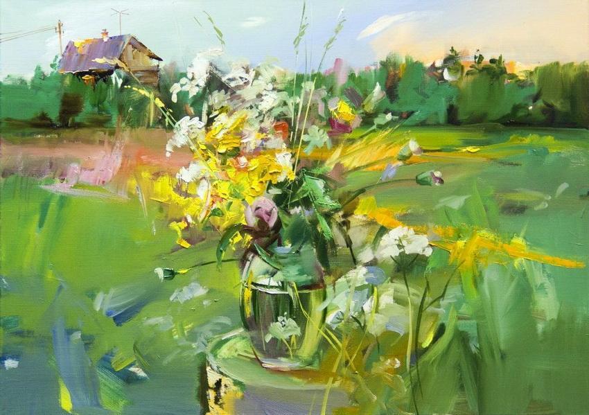 Anne Cotterill (British, 1933-2010). Цветочные ...: subscribe.ru/group/mir-iskusstva-tvorchestva-i-krasotyi/6966480