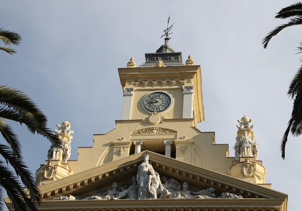 Малага. Здание муниципалитета (Casa consistorial de Málaga)