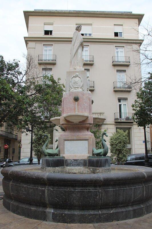 Valencia.  Валенсия. Площадь Сан Винсент Ферер. Plaza de san Vicente Ferrer