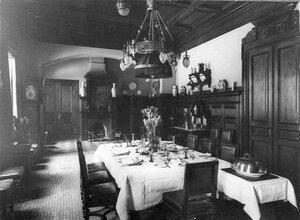 Столовая в особняке И.Д.Бонштедта.