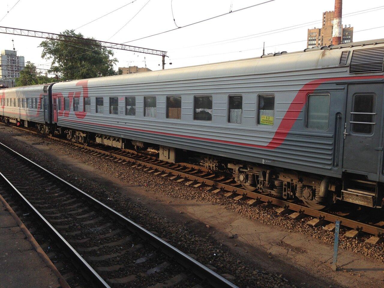 Фото поезда владикавказ 4