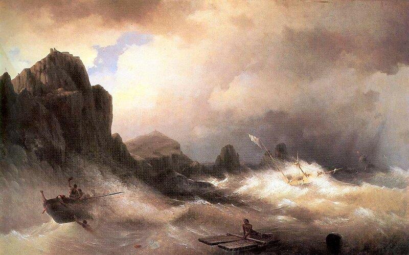 Айвазовский. Кораблекрушение.jpg