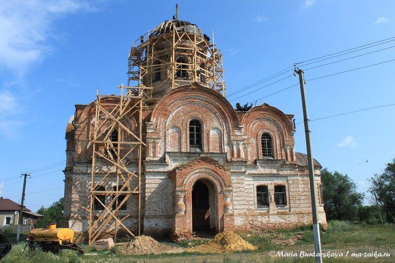 Церковь Покрова Пресвятой Богородицы, Сокур, 13 июля 2013 года