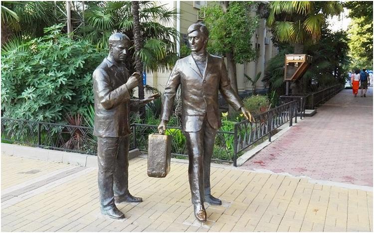 Геша Козодоев (Андрей Миронов) и Лёлик (Анатолий Папанов)