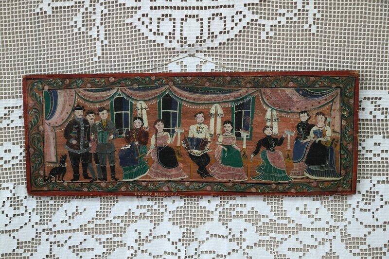 Городецкая роспись