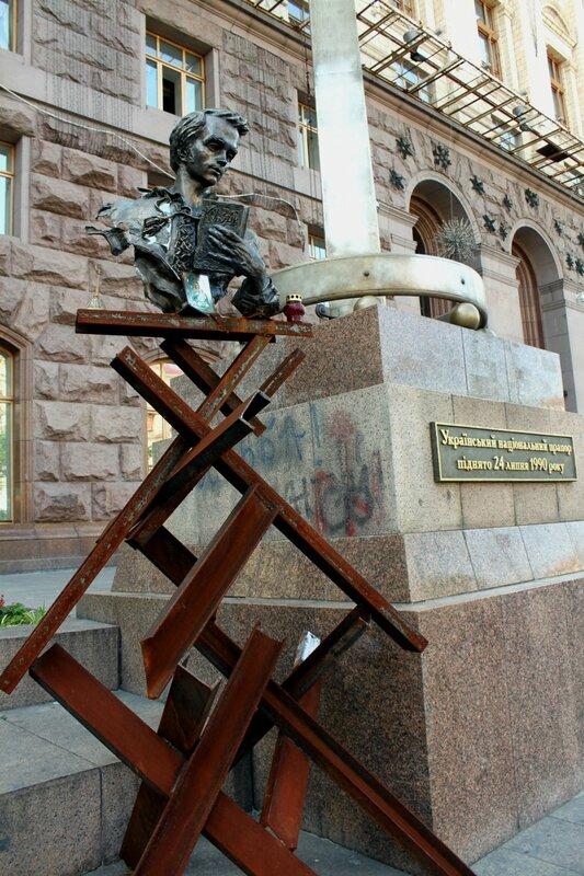Памятник Шевченко на Крещатике