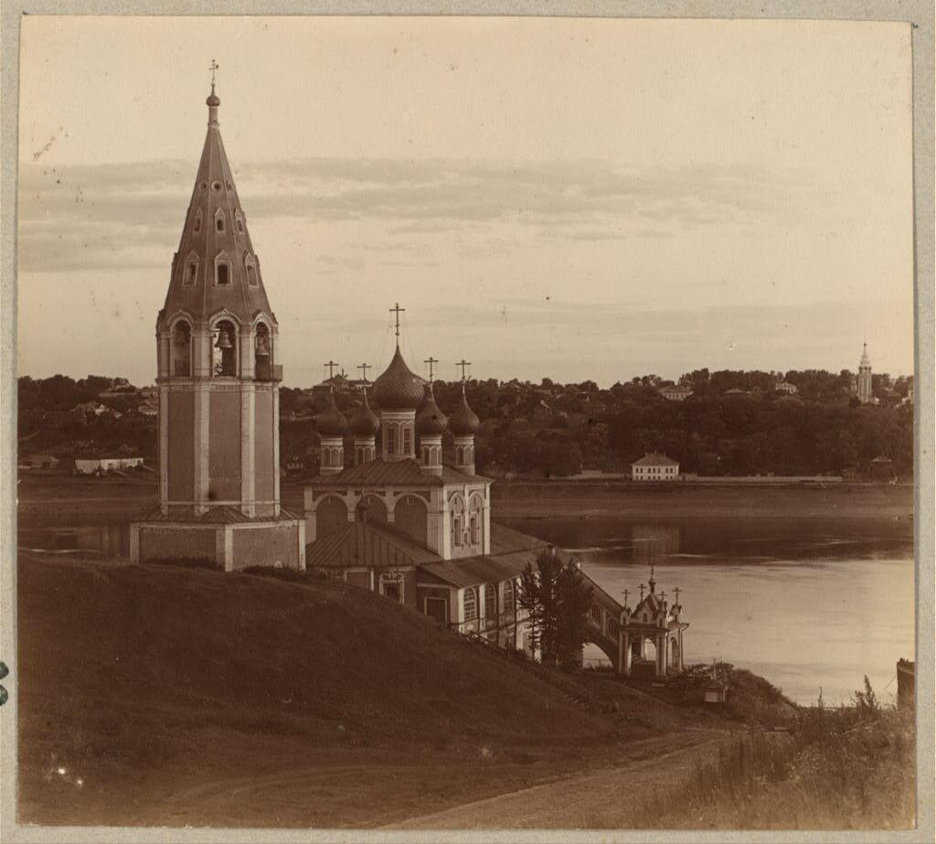 Церковь Казанской Божией Матери. Романов. 1910