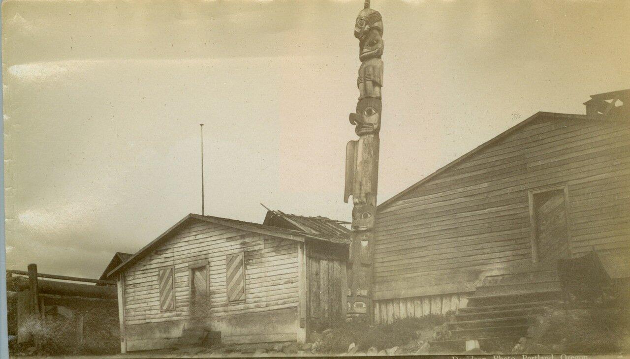 1883. Тотен в Форте Врангеля