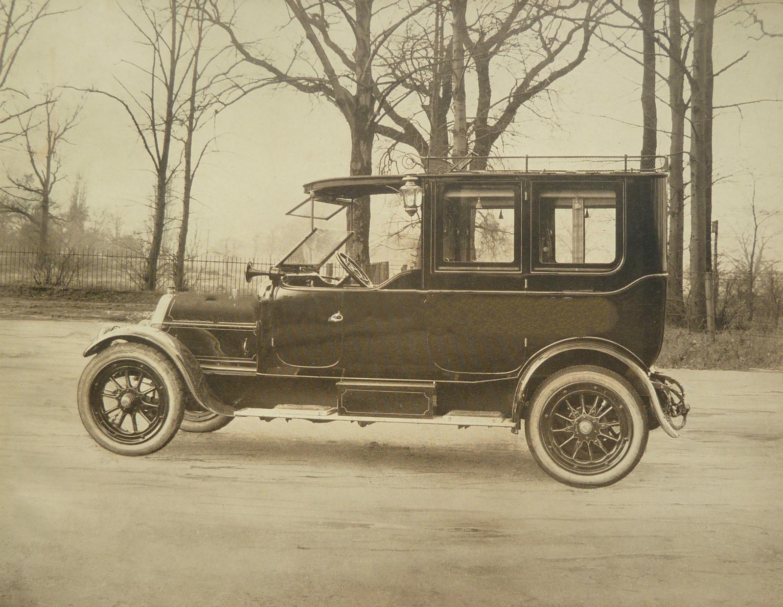 Автомобиль британской компании Baguley Cars Ltd инженера Эрнеста Э. Бэгули (1863 – 1948)