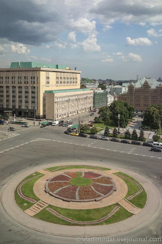 Лубянская площадь. Москва.