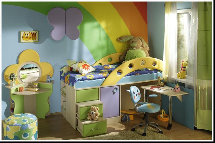 Более полусотни идей дизайна интерьера детской комнаты