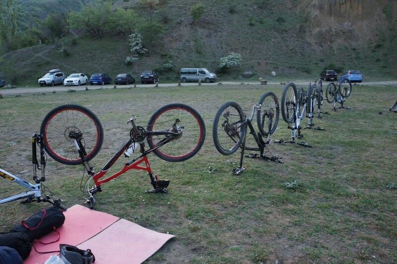 Весенний велотур по горам Крыма
