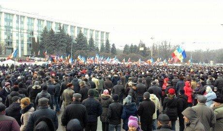 Митинг Платформы ДА в Кишинёве - ключевые тезисы