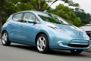 Nissan LEAF-самый продаваемый электрокар в Европе