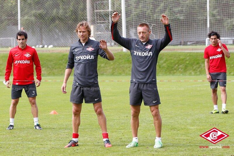 «Спартак» готовится к матчу с «Кубанью» (Фото)