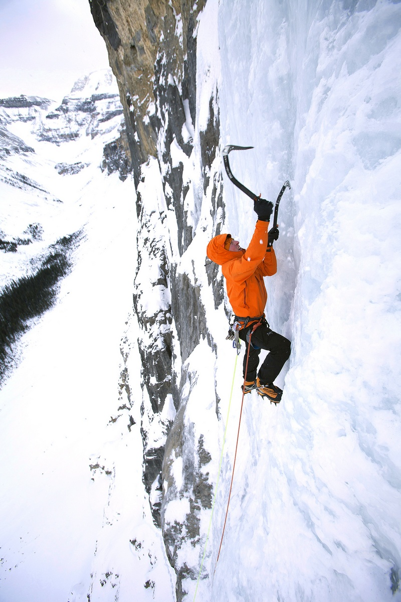 Dangerous Icy Climbs