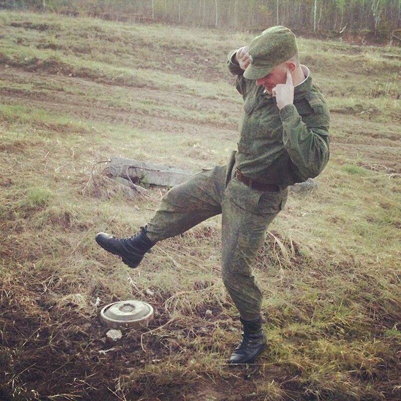 Фото русских солдатов из Инстаграма