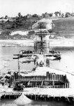 14. 20 августа 1961 года. Вид на строительство опор оста с левого берега..jpg