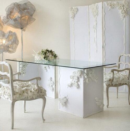 Экологическая мебель из отходов