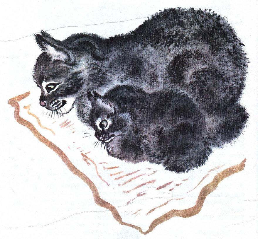Чарушин картинки животных