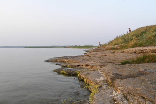 Берег озера Большие Аллаки