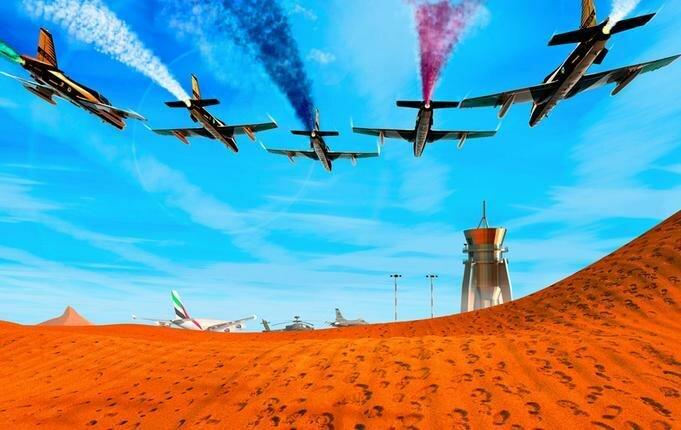Авиашоу в Дубай