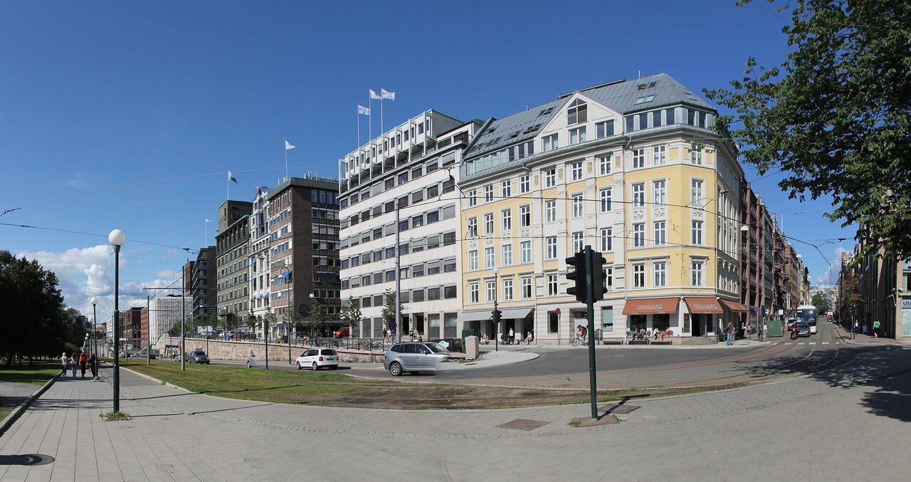 Улица Родхусгата (Rådhusgata)