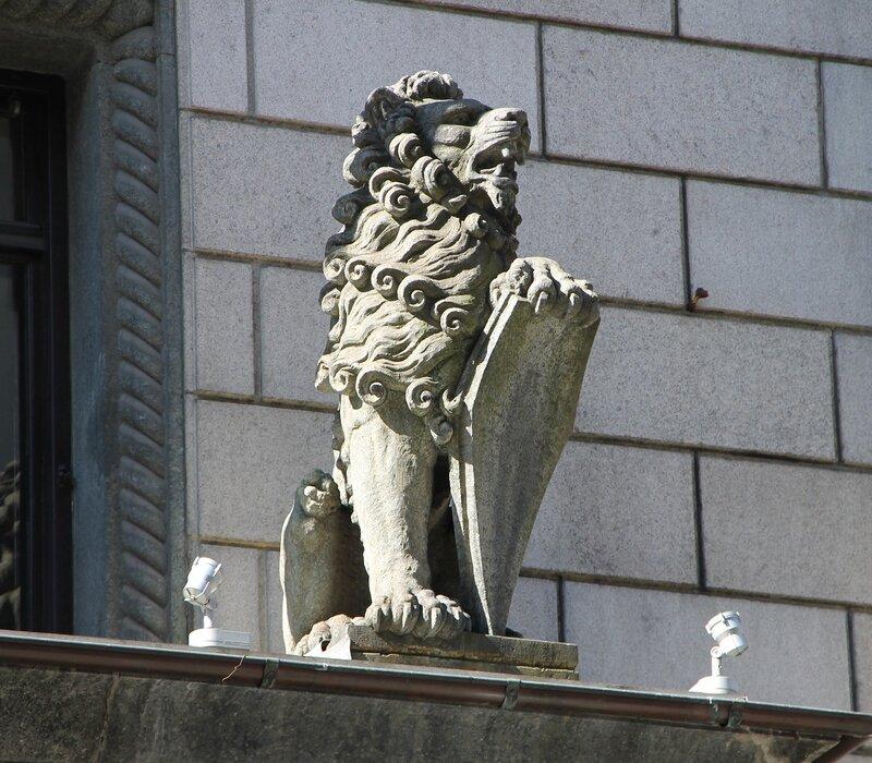 Осло. Здание Сберегательного банка Норвегии. Sparebankstiftelsen DNB. Oslo.