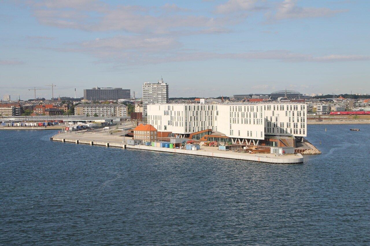 the port of Copenhagen Port Copenhagen, UNO-city