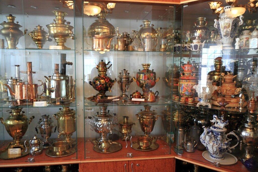 Музей самоваров, экспозиция