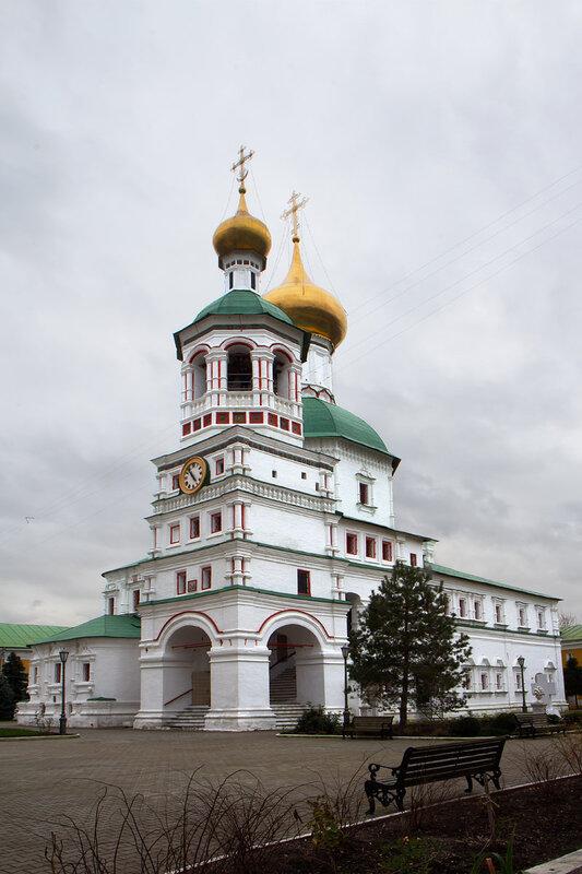 Собор свт.Николая Чудотворца в Никоро - Перервинском монастыре.