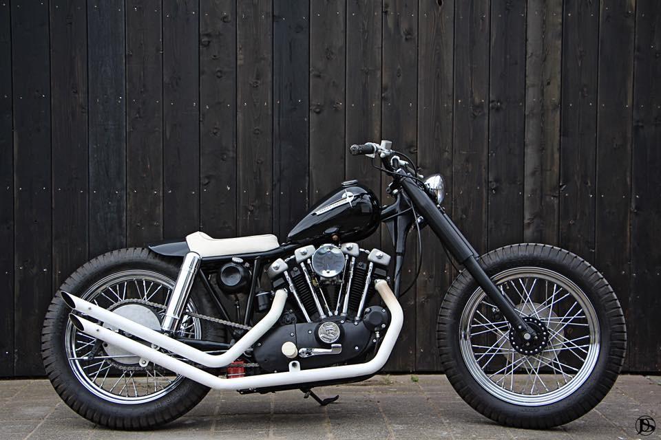 Pancake Customs: чоппер Harley-Davidson Ironhead Sportster